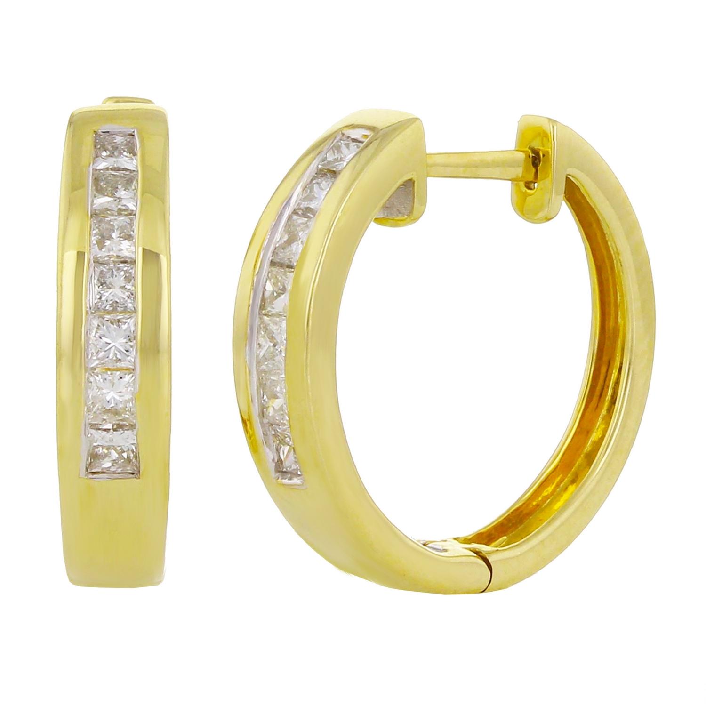 10K Gold Double Heart Charm Pendant 0.47 in x 0.59 in